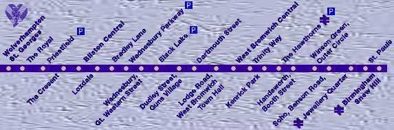 Metro Line One Map