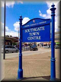 Southgate                   Sign