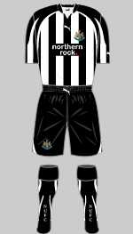 newcastle united 2010-11 home kit