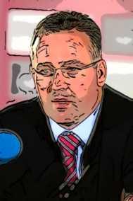 Alex McLeish Caricature