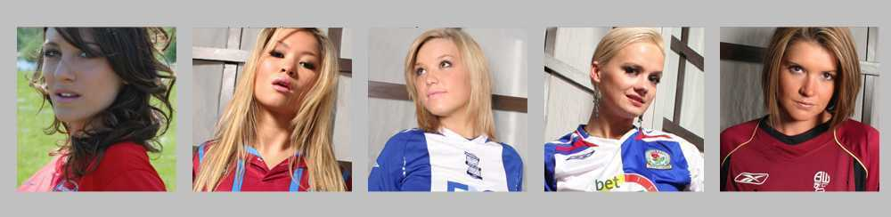 The Premier Miss UK                                     Football Finder Girls