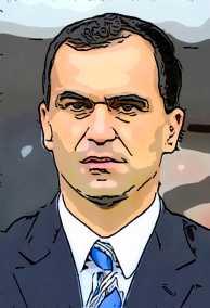 Roberto Martinez Caricature