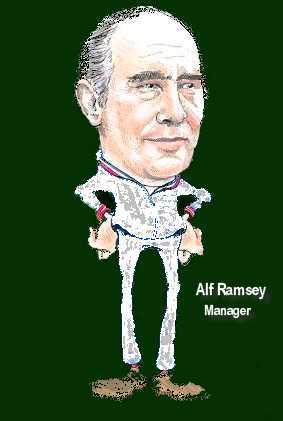 Alf Ramsey Caricature